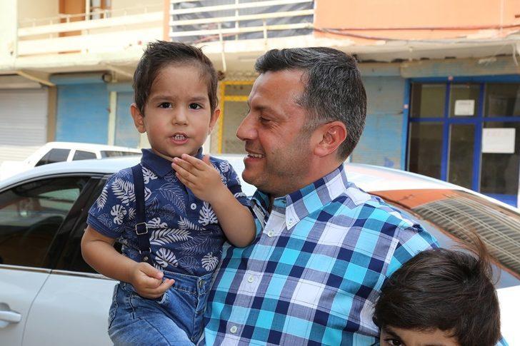 Başkan Kocaispir'den minik Efe'ye sürpriz ziyaret