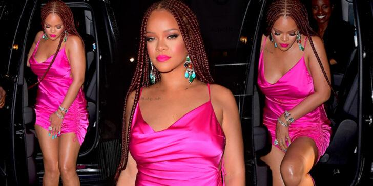 Rihanna kendi açılışına 3 saat geç geldi!