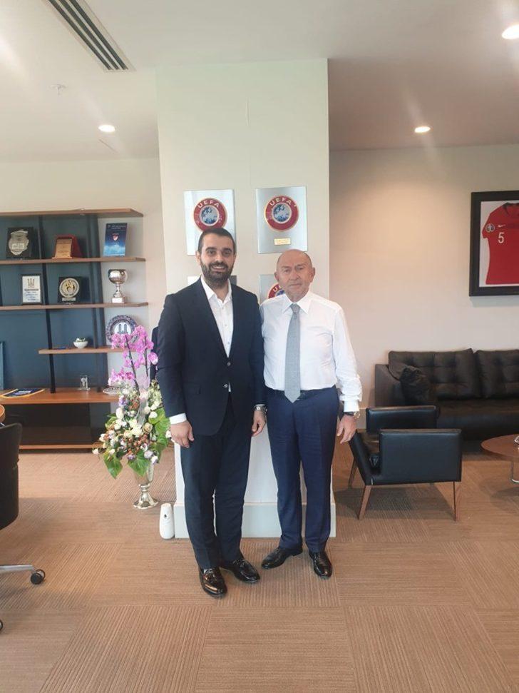 Başkan Kadir Dağlı'dan Federasyon Başkanı Özdemir'e ziyaret