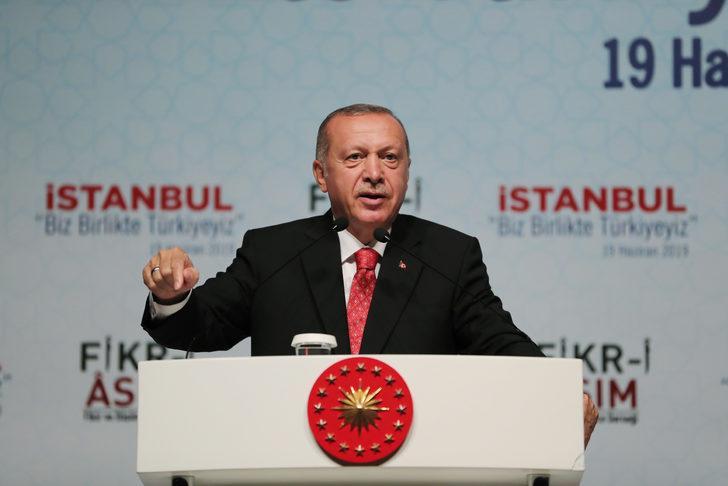 Cumhurbaşkanı Erdoğan'dan 'ortak yayın' tepkisi