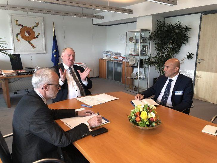 İzmir-Avrupa iş birliği için dev adımlar