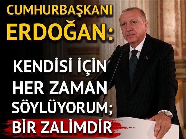 Erdoğan'dan medya temsilcileri ile toplantıda açıklamalar