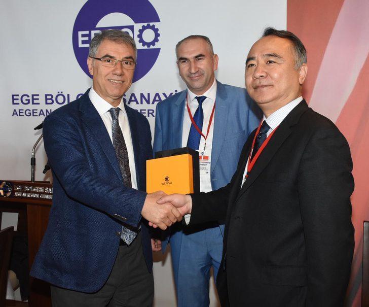 Çin ile İzmirli firmaların tıbbi bitki iş birliği