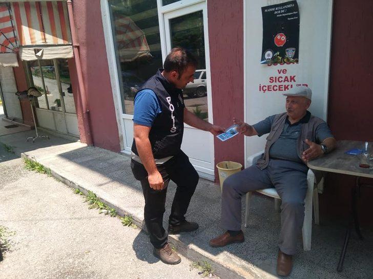 Daday polisinden vatandaşlara bilgilendirme