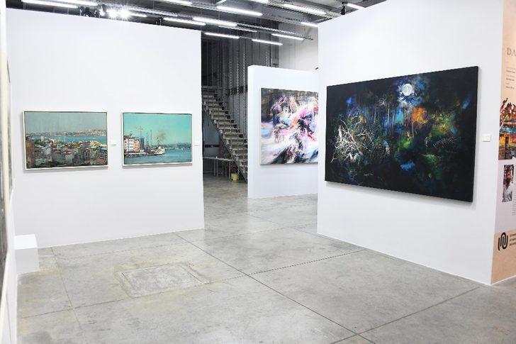 Türk ve Suriyeli ressamların ortak sergisine büyük ilgi