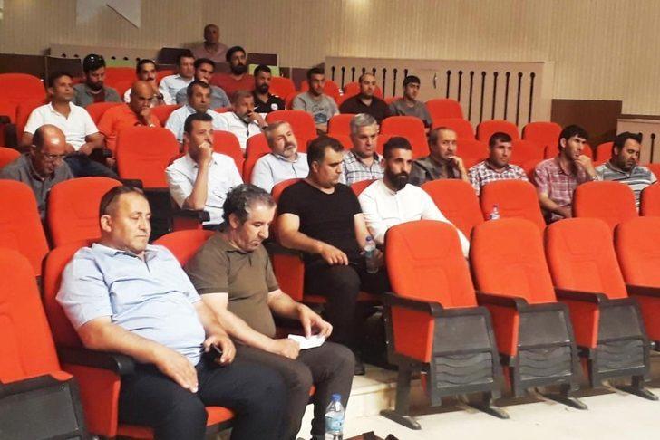 Başkan Çetin, amatör spor kulüplerinin yöneticileriyle bir araya geldi