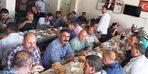 Başkan Çetin, temizlik personeliyle yemekte bir araya geldi