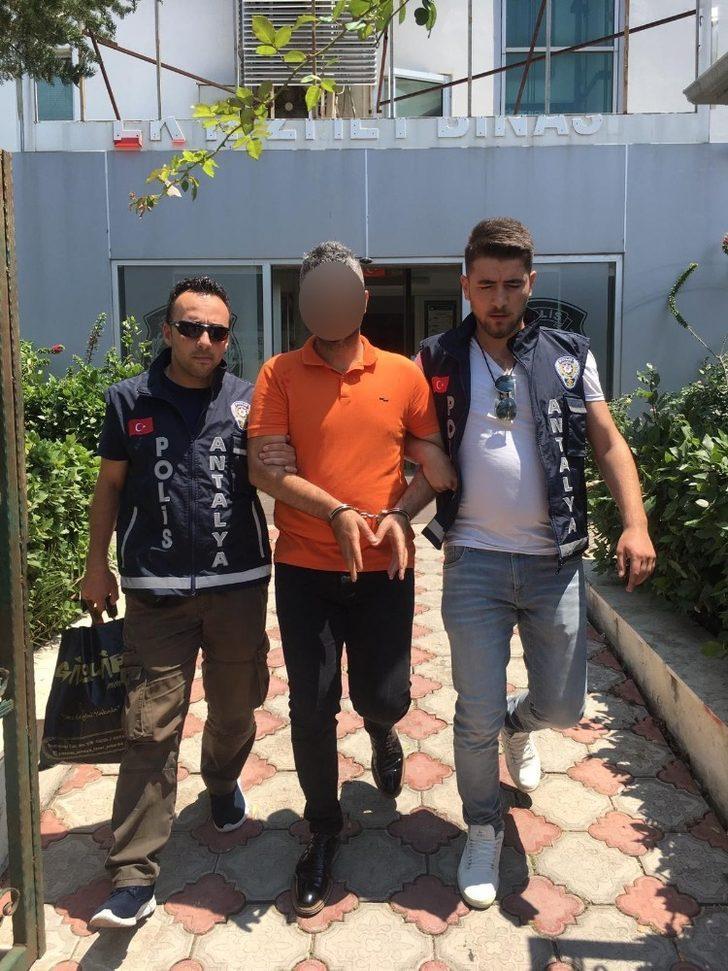 Amerikalı turiste kapkaç şüphelisi yakalandı