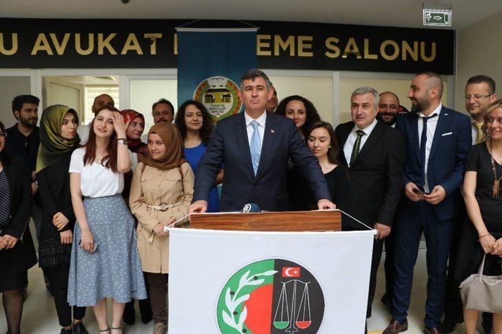 """TBB Başkanı Feyzioğlu: """"Yargı reformunu yeşil pasaporta indirenleri kınıyorum. Bu sığlıktır"""""""