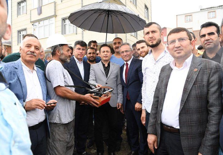 Başkan Yazıcı, Şifa ve Mimarsinan Mahallesi'ne verdiği bir sözü daha yerine getirdi
