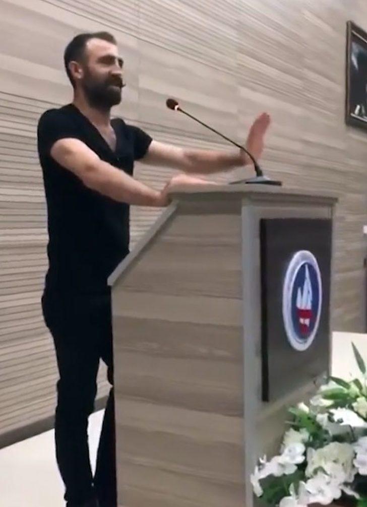 """Kırıkkale Üniversitesinde """"İstiklal Marşı"""" krizi"""