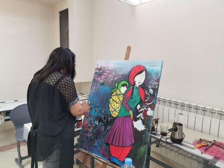 Maarif Vakfı'ndan Kuzey Makedonya'daki Sanat Kolonisine destek