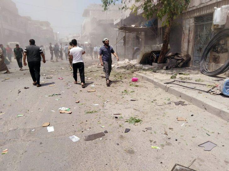 El-Bab'da patlama: 5 yaralı