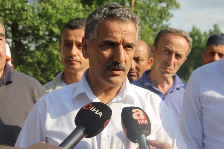 """Samsun Valisi Kaymak'tan """"sel"""" açıklaması"""