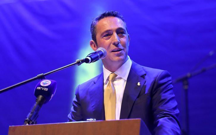 Fenerbahçe Başkanı Ali Koç'tan transfer müjdesi