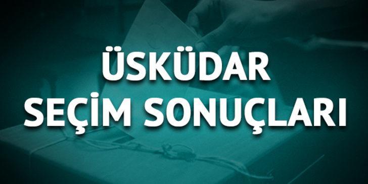 Üsküdar'da Ekrem İmamoğlu ve Binali Yıldırım kaç oy aldı, oy oranı ne oldu?