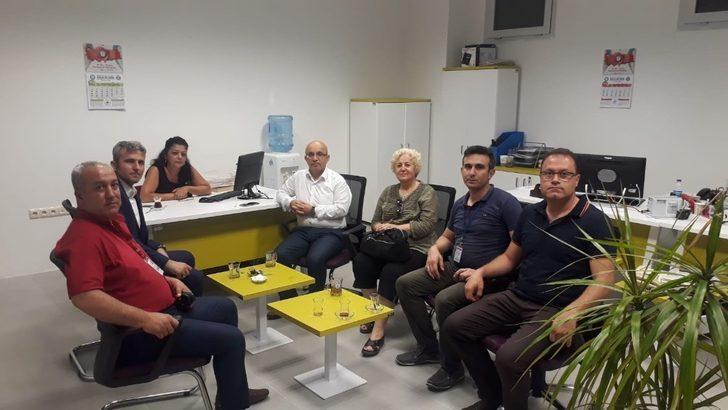 Şehit yakınlarına SGK İzmir ziyareti