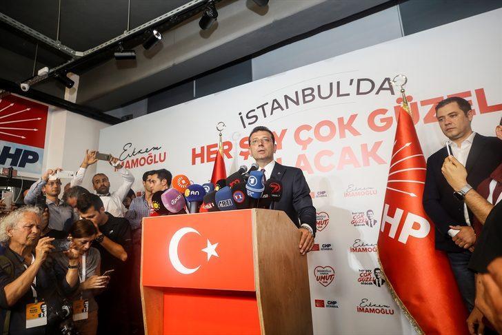 Ekrem İmamoğlu'ndan Twitter'dan teşekkür paylaşımı