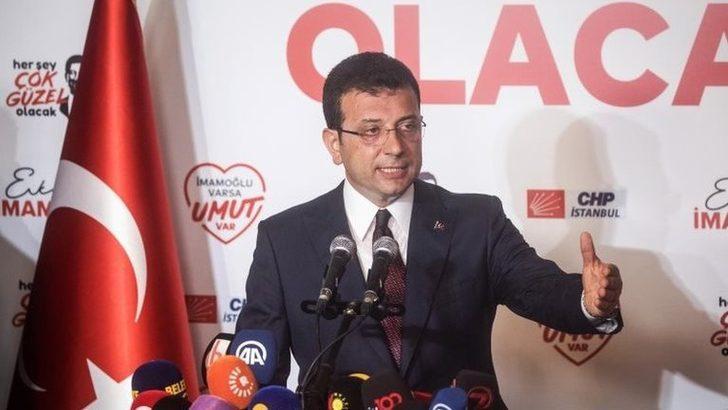 Seçim sonuçları: Ekrem İmamoğlu yaklaşık 780 bin oy farkla İstanbul Büyükşehir Belediye Başkanı seçildi