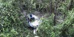 10 metreden uçtu! Korkunç kaza