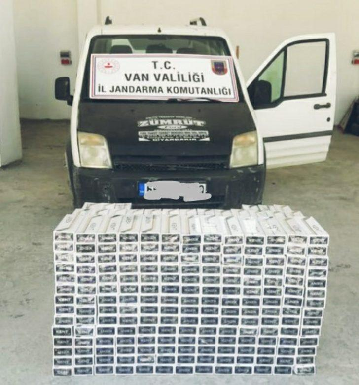 Van'da 5 bin 10 paket kaçak sigara ele geçirildi