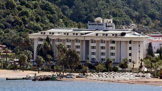 Beş yıldızlı otel kaderine terk edildi!