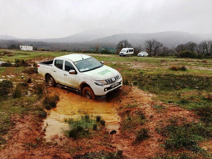 UEDAŞ çalışanlarına çetin arazi şartlarında güvenli sürüş eğitimi