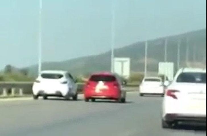 Direksiyonu, tartıştığı sürücünün otomobiline doğru kırdı
