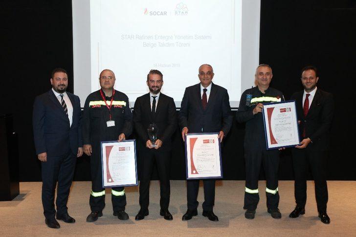 STAR Rafineri Entegre Yönetim Sistemine uluslararası belge