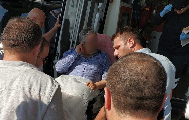 Otogar müdürü silahını temizlerken kazara kendini vurdu