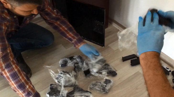 Karaman'da silah kaçakçılığına 3 gözaltı
