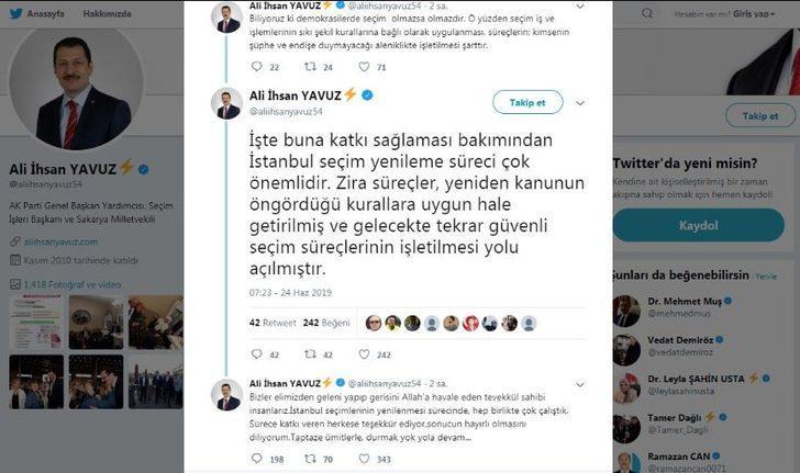 AK Parti'li Yavuz: Güvenli seçim süreçlerinin işletilmesi yolu açılmıştır
