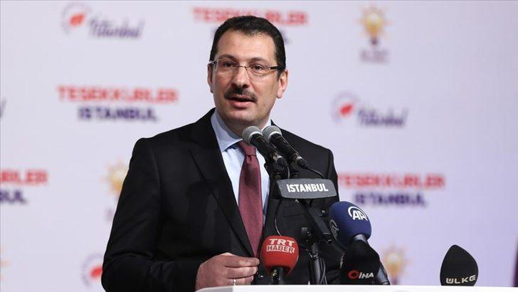 AK Parti Genel Başkan Yardımcısı Ali İhsan Yavuz'dan seçim sonucuna ilişkin ilk açıklama