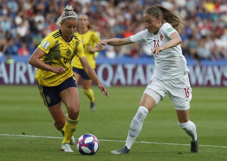 Kanada'yı yenen İsveç çeyrek finalde