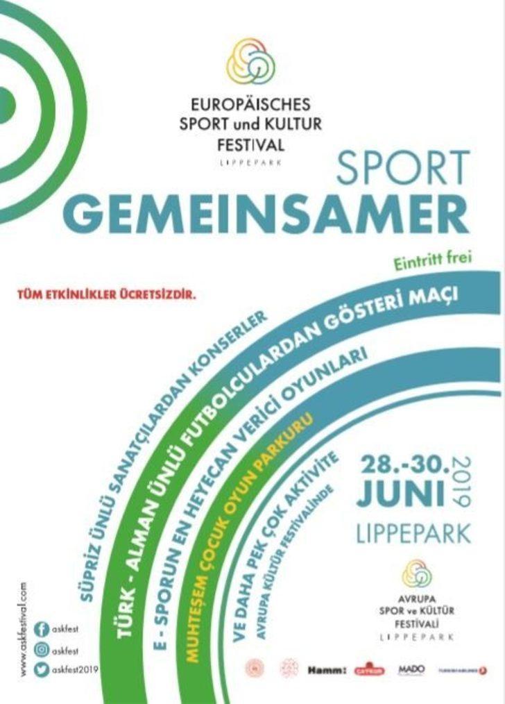 Almanya'da ASKFEST ile spor, kültür ve eğlence dolu günler