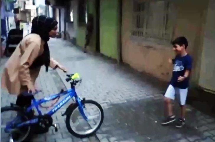 Bisiklet sürme hayali gerçekleşti