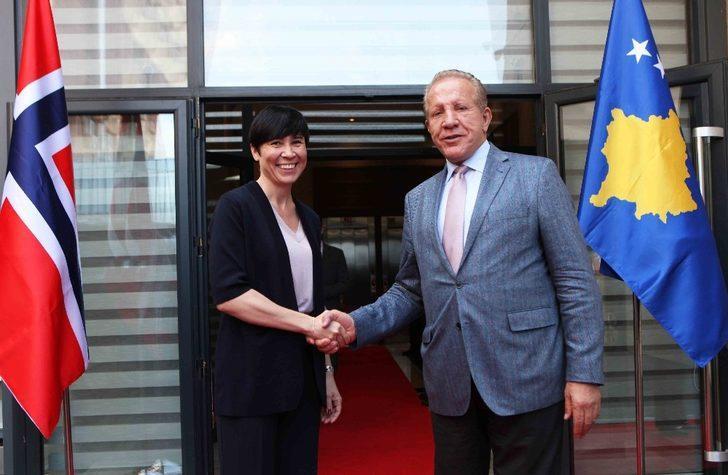 Norveç Dışişleri Bakanı Soried'in Kosova temasları
