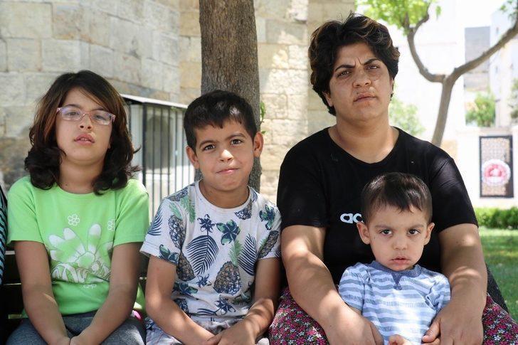 Eşinden şiddet gören kadın 3 çocuğuyla sokakta yaşıyor