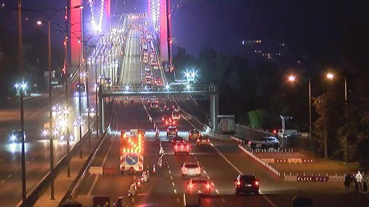 FSM'de 52 gün 4 şerit trafiğe kapatıldı
