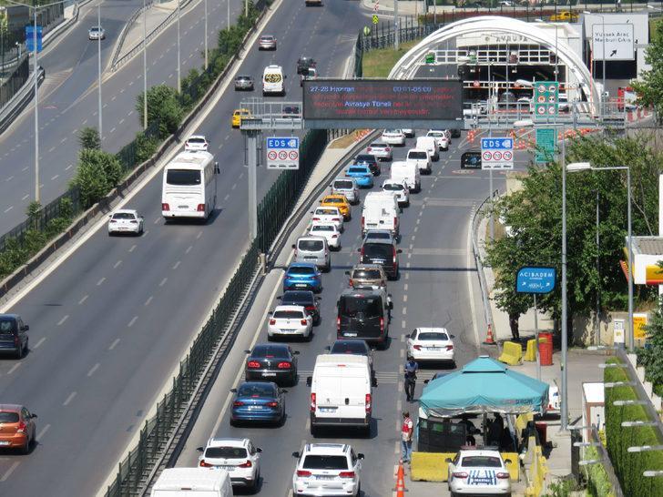 FSM'deki çalışma Avrasya Tüneli'nde yoğunluk oluşturdu