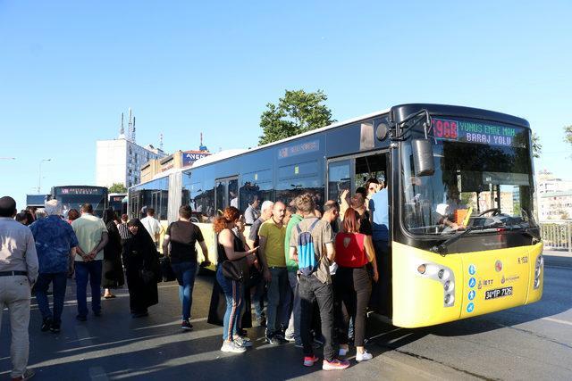 FSM'deki çalışma İstanbul trafiğini etkiledi