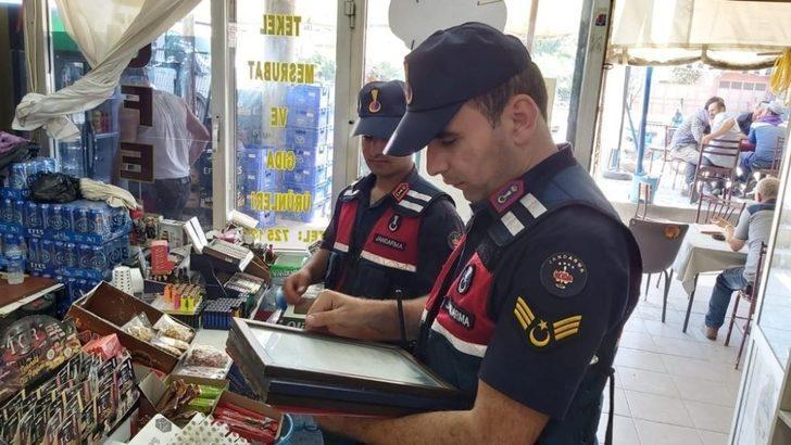 Jandarma 143 litre sahte alkol ele geçirdi