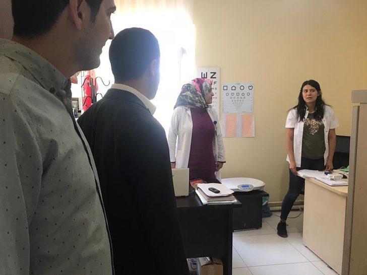 Kaymakam Uzan'dan Bulanık Devlet Hastanesine ziyaret