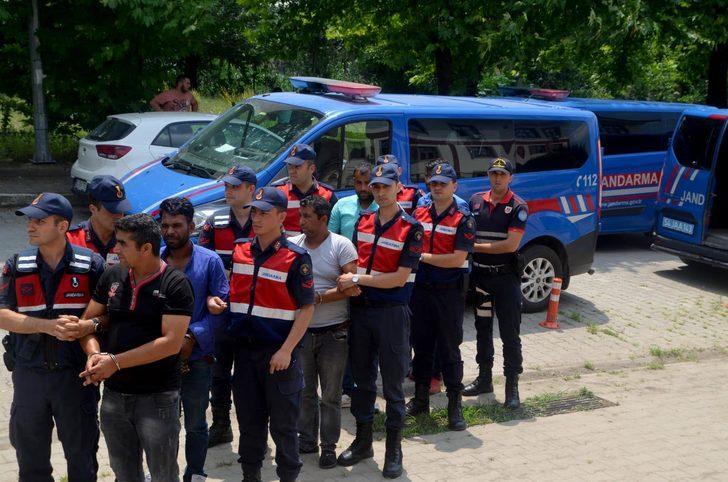 Sakarya'da kablo hırsızlığına 5 tutuklama