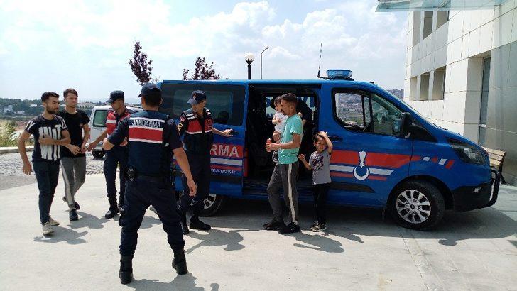 Tekirdağ'da göçmen operasyonu
