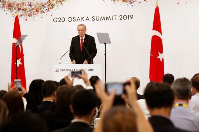 Erdoğan: G-20 daha etkin ve güçlü bir mecra olmalı