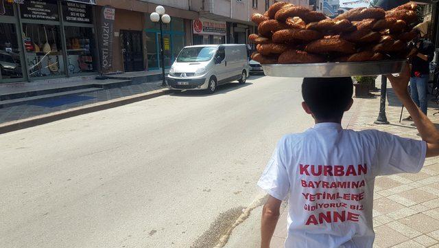 Simitçi Erkan, Kurban Bayramı'nda Suriyeli yetimleri sevindirecek