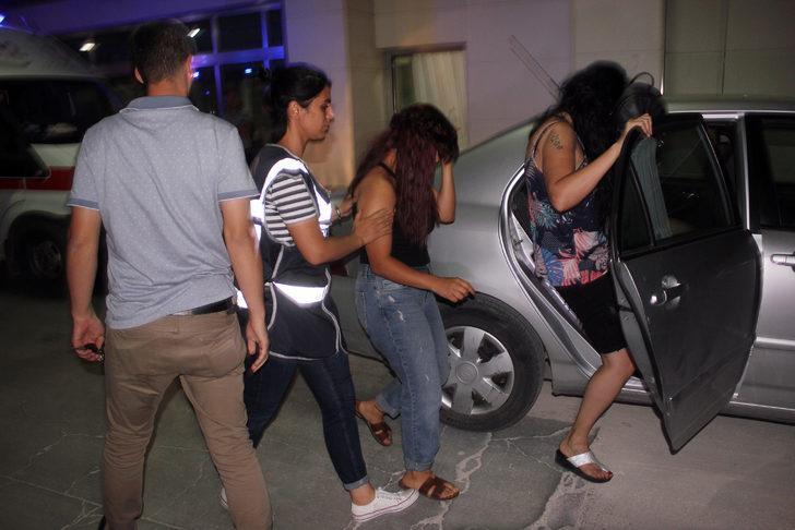 Karaman'da fuhuş şebekesine operasyon: 2'si kadın, 5 gözaltı