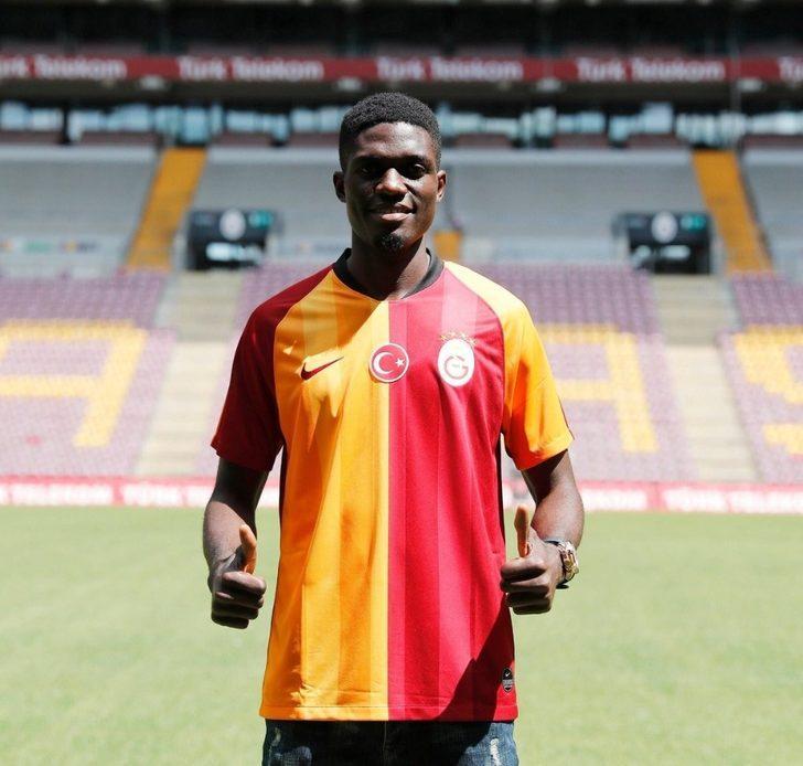 Valentine Ozornwafor, Galatasaray'ın 3. Nijeryalı futbolcusu oldu
