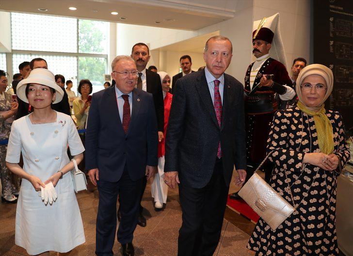 Cumhurbaşkanı Erdoğan, Ara Güler Sergisi'nin açılışını yaptı